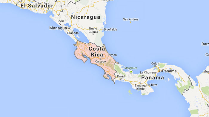 Detailed map of costa rica nations online project costa rica map country guide costa rica maps costa rica maps with countries gumiabroncs Image collections