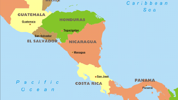 Country guide costa rica maps costa rica cr map central america gumiabroncs Images